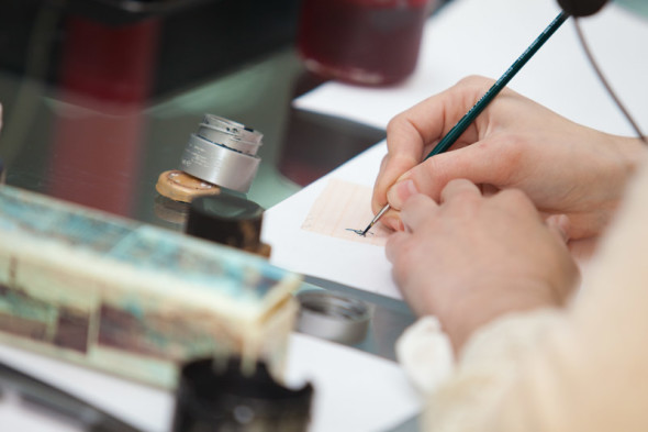 Workshops by Saint-Petersburg calligraphers