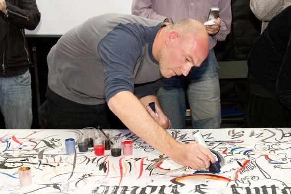 II Международная выставка каллиграфии, Москва