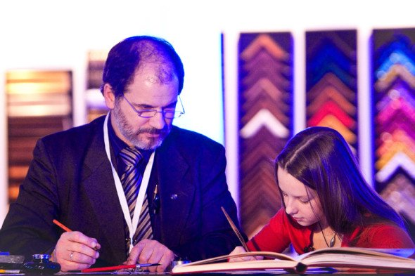 II International Exhibition of Calligraphy, Moscow