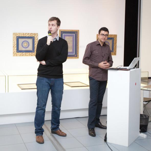 巴巴克·拉什汪德·哈马姆洛和叶戈尔·罗布索夫大师班