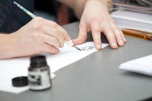 Воскресные мастер-классы по каллиграфии