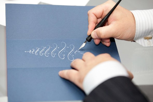 Sunday calligraphy master classes