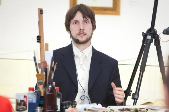 Заключительные мастер-классы на IV Международной выставке каллиграфии