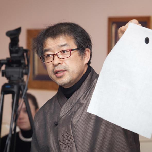 Мастер-класс от Ким Чон Чхиля