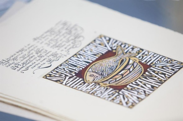 The Text and the Image: calligraphy in a book – a master class by Apollinaria Mishina