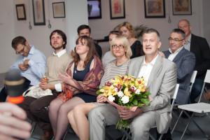 V.V. 沙波瓦洛夫《书法、水和机遇》作品个人展览开幕