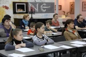 A master class on ceramic calligraphy by Sergey Shikhachevsky