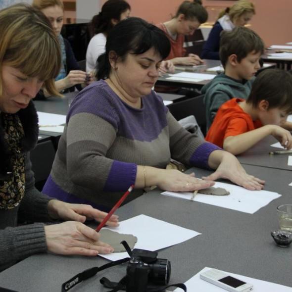 Мастер-класс по керамической каллиграфии от Сергея Шихачевского