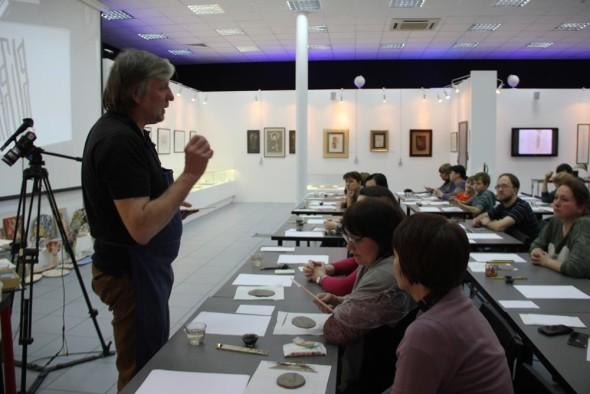 谢尔盖·西哈切夫斯基陶瓷书法大师班