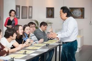 Пресс-конференция V Международной выставки каллиграфии
