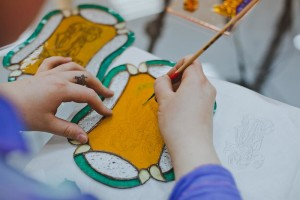 """Master class """"The Art of Stained Glass Mosaic"""""""