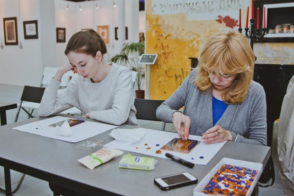 "Master class ""The Art of Stained Glass Mosaic"""