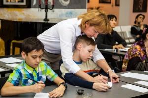 Мастер-класс для детей «Остроконечное перо»