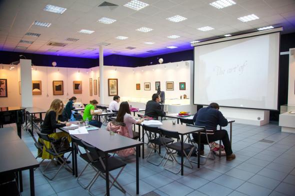 Осенний выпуск Национальной школы искусства красивого письма