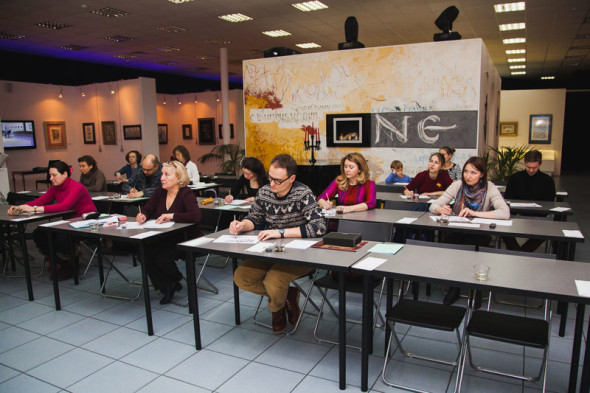 Calligraphy in Ecclesiastical Art – a workshop by Grigory Marakuyev