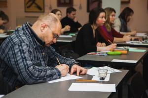 Мастер-класс «Каллиграфия в церковном искусстве» от Григория Маракуева