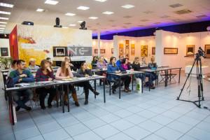 Workshop on lettering