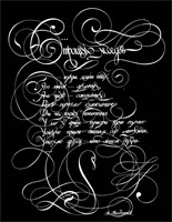 Cognitive calligraphy