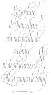 Lettering and Calligraphy in France