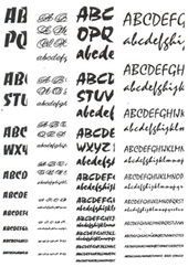 История шрифта и каллиграфии во Франции