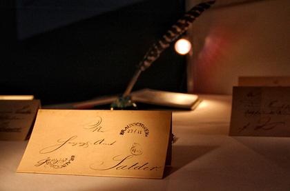 Письмо, датированное XIX веком. Германия