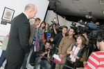 Современный музей каллиграфии представил Царь-Мезуза и эскиз подарка Президенту РФ Дмитрию Медведеву