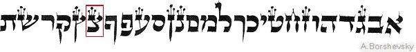 иврит - письменность из глубины времён