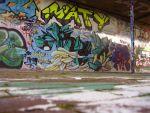 Граффити на бетоне