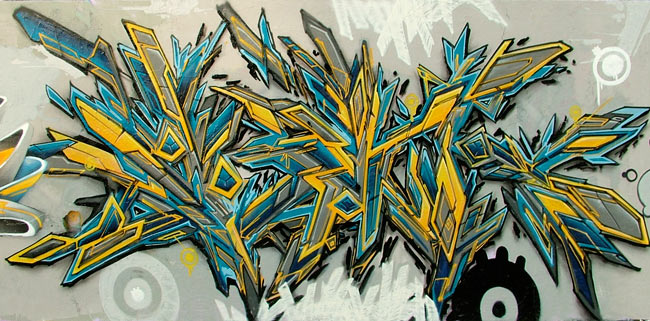 Kinds And Styles Of Graffiti International Exhibition Of