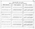 Самоучитель полного курса каллиграфии и скорописи. Могилевская губерния. 1893