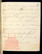 XIX век. Собственноручная записка великого князя Николая Павловича