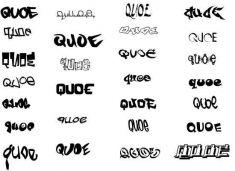 Граффити-шрифты