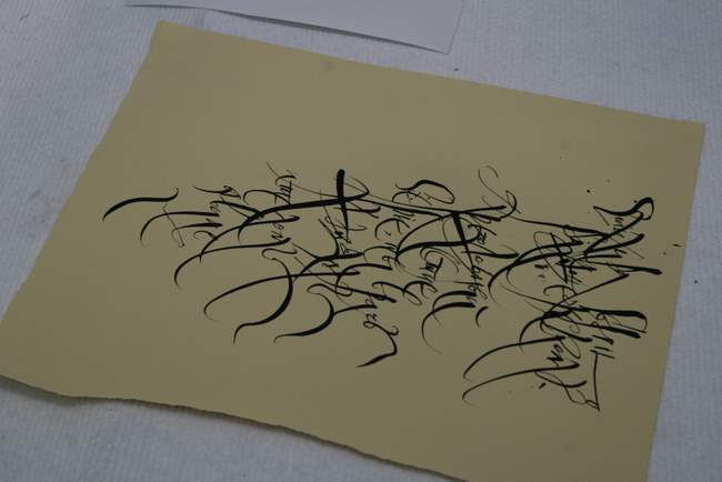 10 декабря 2008 г. «Мастер-класс для взрослых и детей». Мастер-класс московского каллиграфа и художника Анатолия Мощелкова