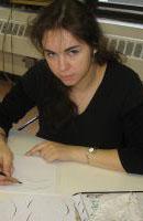 Анна Белкина - американский каллиграф