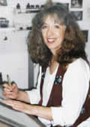Джейн Парилло - американский каллиграф