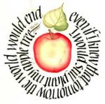 Apple Quote - american calligraphy