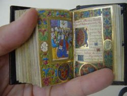 Miniature book: past, present and future.