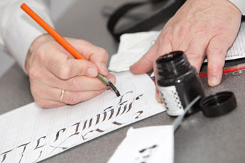 В Национальной школе искусства красивого письма начался новый семестр