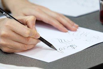 Учимся писать монограммы
