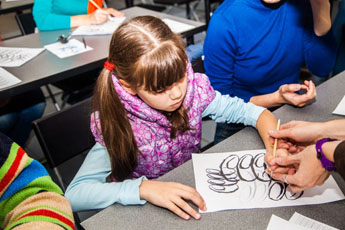 September 13th, 14th, 2014. Master-classes in calligraphy art for kids and adults