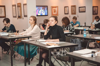 Classes in the National School of Calligraphy