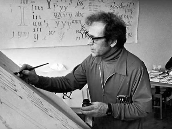The Trappist monk whose calligraphy inspired Steve Jobs — and influenced Apple's designs