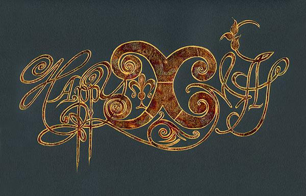 Каллиграфы поздравляют Современный музей каллиграфии с Новым годом!