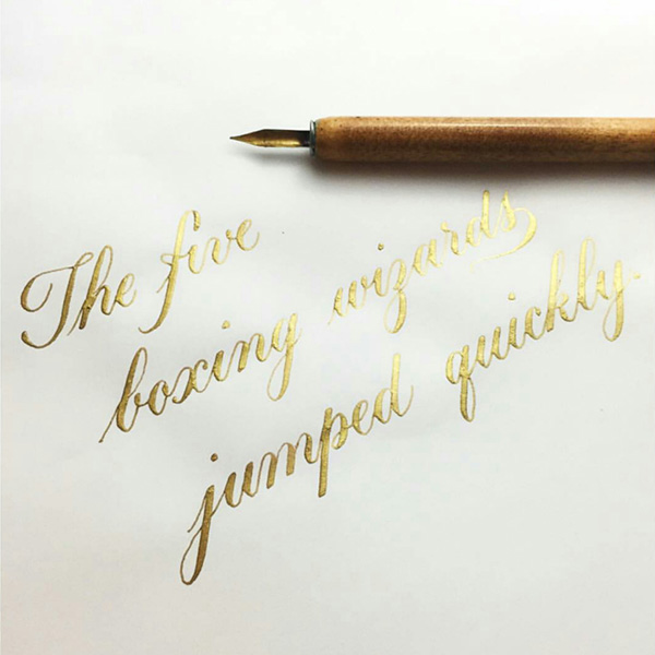 Best Tools For Left Handed Calligraphers The