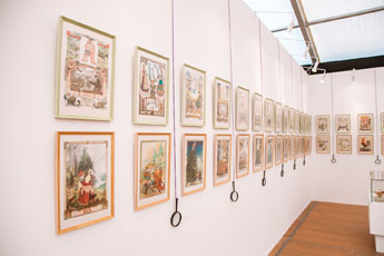 Все готово к началу IV Международной выставки каллиграфии