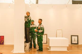 До открытия Международной выставки каллиграфии осталась неделя!