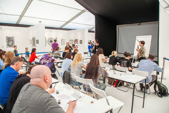 Субботние мастер-классы в рамках Международной выставки каллиграфии