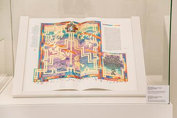 The Saint John's Bible at the VI International Exhibition of Calligraphy
