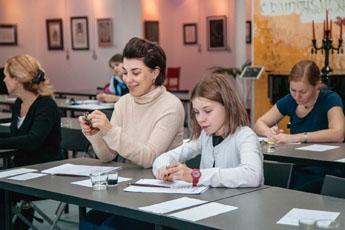Новые курсы стартовали в Национальной школе каллиграфии