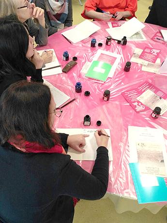 Современный музей каллиграфии на образовательном форуме «Достояние России. Народная художественная культура - детям»